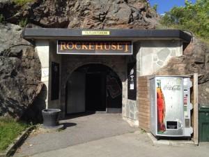 Inngangen til Rockehuset